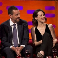 Claire Foy 'not offended' by Adam Sandler touching her leg on Graham Norton Show