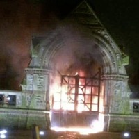 Security to be reviewed at Milltown Cemetery following 'disgusting' arson attack