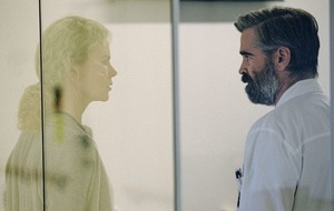 Hard choices: Colin Farell and Nicole Kidman in The Killing Of A Sacred Deer