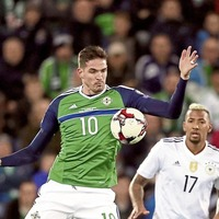 Michael O'Neill plays down absence of Kyle Lafferty ahead of NI's Austrian test