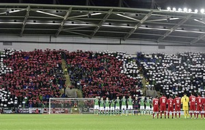 Northern Ireland to request permission to `display poppy' for Switzerland clash