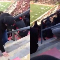 This one step at Ohio Stadium tripped up at least 15 people