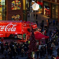 Is the Coca-Cola Christmas truck visiting your town this year?