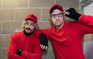 Liam Payne dons disguise for Sounds Like Friday Night sketch