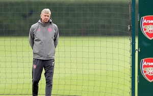 Arsene Wenger was nutmegged in Arsenal training, but how did he take it?