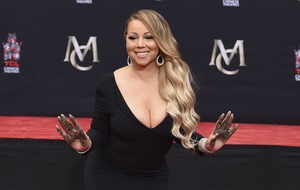 Mariah Carey honoured with Hollywood handprint ceremony