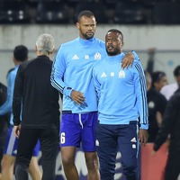 Patrice Evra has become the first player to be sent off before a match in the Europa League