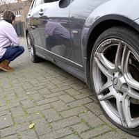 Police are working to establish a motive after tyres on 12 cars were slashed in east Belfast