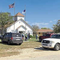Gunman kills more than 20 people in shooting rampage at Baptist church in Texas