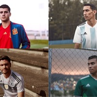 Adidas revealed 8 retro-inspired shirts for the World Cup, and they're all worthy of the prize