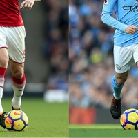 David Silva and Laurent Koscielny swapped shorts instead of shirts and people are baffled