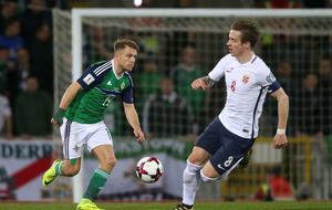 Jamie Ward is hoping for recognition and progress with Northern Ireland
