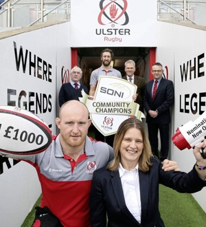 Search is on to find Ulster rugby's volunteer of the year