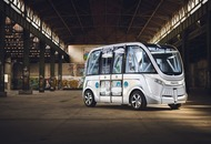 A self-driving shuttle was involved in a crash on its first day
