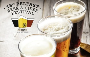 Craft Beer: Irish brews come out on tap for Belfast Beer and Cider Festival