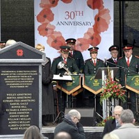Controversy over Enniskillen memorial