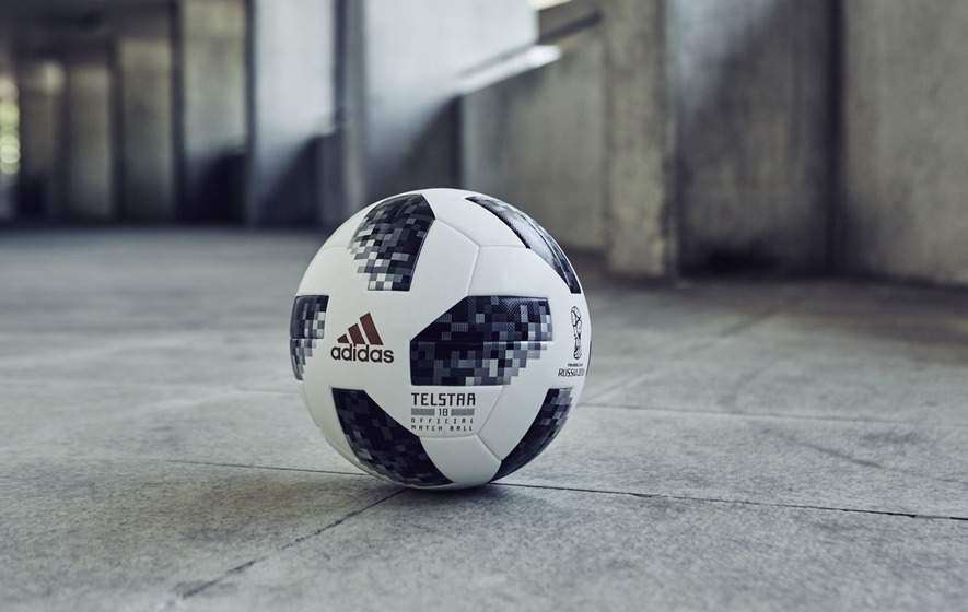 713d5fa1d Adidas has continued its retro theme for World Cup 2018 with the release of  its trippy official ball
