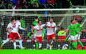 Controversial penalty gives Switzerland World Cup play-off win over Northern Ireland