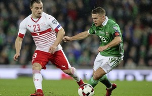 Northern Ireland forward Jamie Ward aiming to roll Swiss over