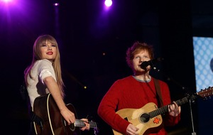 Taylor Swift and Ed Sheeran to compete for best artist prize at EMAs