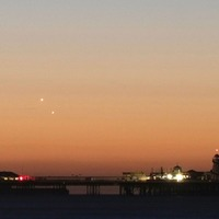 Venus and Jupiter met in the skies at dawn and it was a celestial marvel