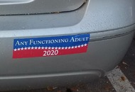 Meet the creator behind the bumper sticker taking the internet by storm