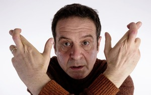 Comedian Mark Thomas gambles on the future