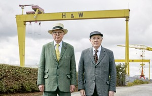 Gilbert and George's blame game