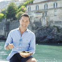 Gino D'Acampo cooks up a storm on the Italian coast