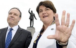 William Scholes: Arlene's gone from smokin' hot to political damp squib