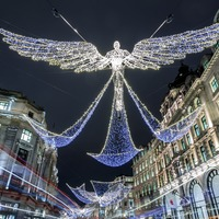Quiz: Can you match the Regent Street Christmas decorations to the year?