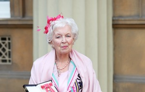 June Whitfield 'proud' as she is made a dame