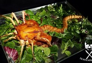 This terrifying replica of a facehugger inspired by the Alien movies is actually a main meal