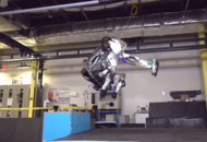 Watch this Boston Dynamics robot pull off the perfect back flip