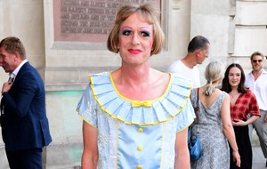 Listen up: Grayson Perry turns continuity announcer