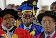 Mugabe makes first public appearance since military put him under house arrest