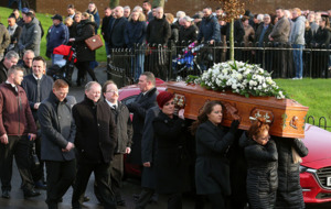 Margaret McAlorum laid to rest beside murdered daughter Megan