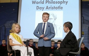 School pupils celebrate great philosophers