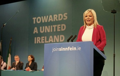 Michelle O'Neill tells ard fheis that executive can only work if based on 'genuine equal partnership'
