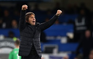 You might see Antonio Conte with a great big bushy beard if Chelsea win the league this season