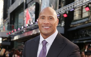 Dwayne Johnson celebrates WWE anniversary with fashion throwback
