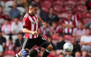Miss of the season? Brentford's Neal Maupay just gave his entry for the accolade