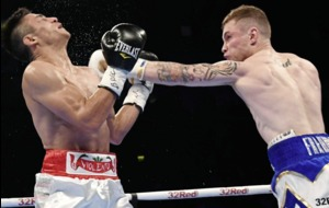 Carl Frampton made to work as Horacio Garcia tries to spoil comeback party
