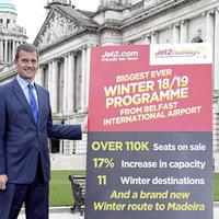 Jet2.com unveils new winter route from Belfast to Madeira