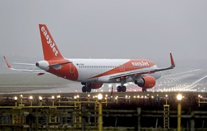 EasyJet suffers 17 per cent profits fall but cheers 'encouraging' recent trading