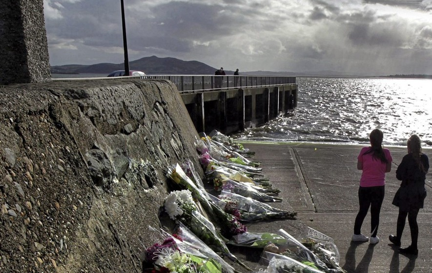 Family died after vehicle slid off 'ice-like' pier into sea