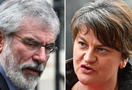 Gerry Adams says 'have a wee bit of sense' after Arlene Foster warns 'glorification of terrorism' an obstacle to deal