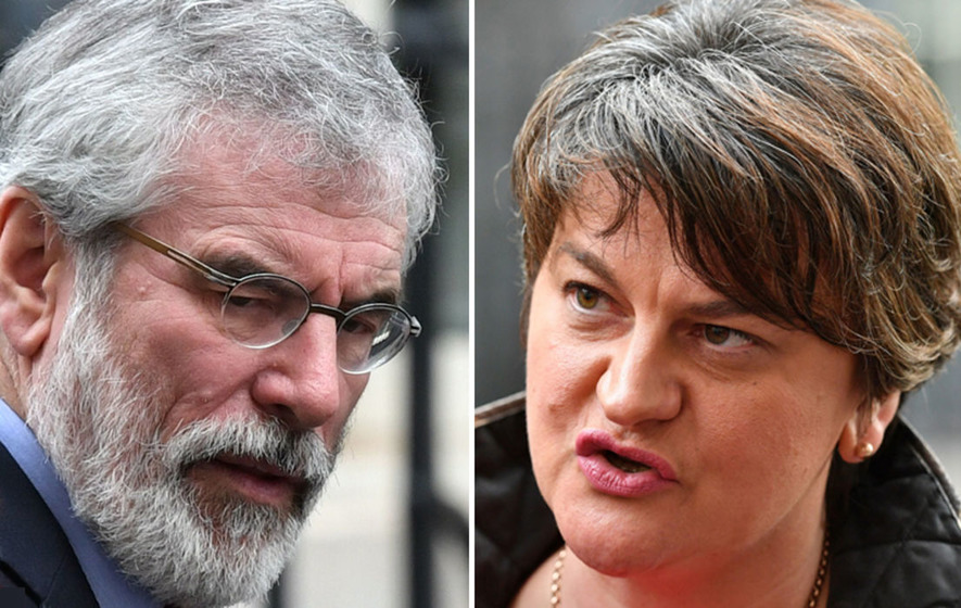 Sinn Fein's 'glorification of terrorism' makes restoring government more hard, says Foster