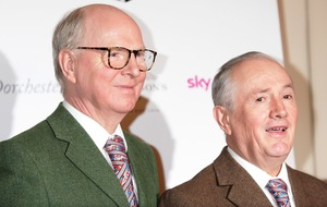 Art duo Gilbert and George unveil beard-inspired work