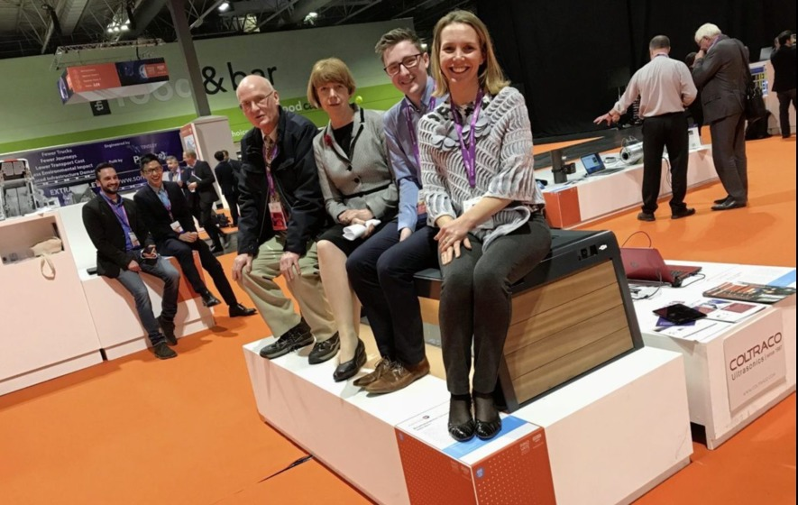 Solar energy bench with USB charging point awarded top product gong